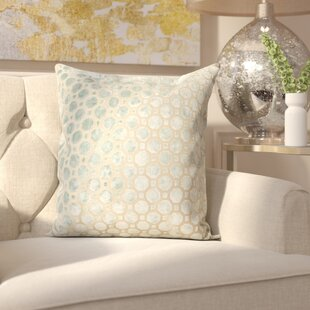 Carlie Velvet Throw Pillow
