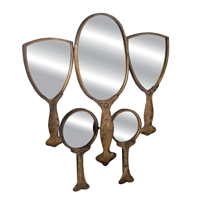 Design Toscano 5 Piece Fairest of Them All Hand Mirror ...