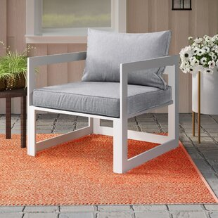 Fehi Outdoor Patio Armchair with Cushion