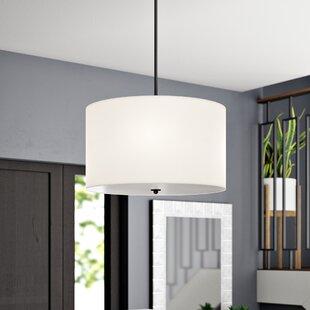 Ebern Designs Paylor 4-Light Drum Chandelier