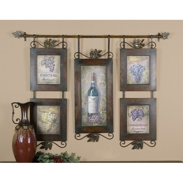 Wine pictures wall decor