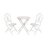 Jacobi 3 Piece Bistro Set