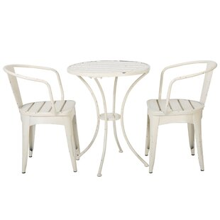 Kardos Indoor 3 Piece Dining Set Ebern Designs