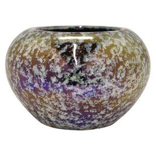Vines Ceramic Iridescent Table Vase