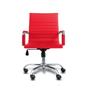 Ebern Designs Terhune Mid Back Office Chair