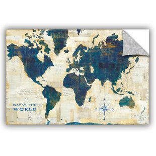 eb70640e149 Sue Schlabach World Map Collage Wall Decal