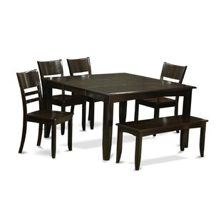 Parfait 6 Piece Dining Set by Wooden Importers Amazing