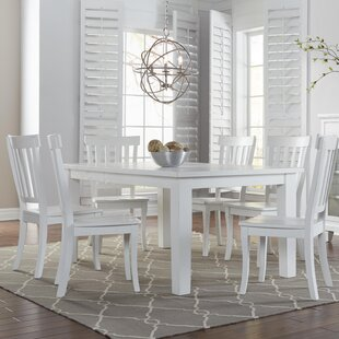 Zeinab 7 Piece Dining Set Beachcrest Home