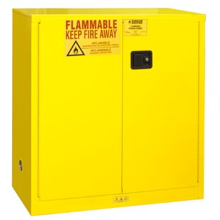 Flammable Safety Manual Door Cabinet by Durham Manufacturing