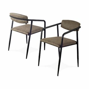 Balch Upholstered Dining Chair (Set of 2) Foundry Select