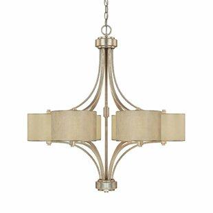 Lark Manor Lecompte 6-Light Shaded Chandelier