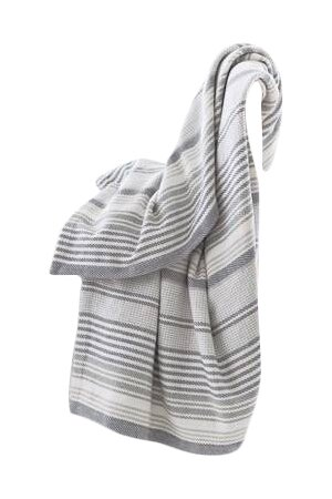 Dash And Albert Rugs Woven Cotton Gradation Ticking Throw Wayfair Impressive Dash And Albert Throw Blankets