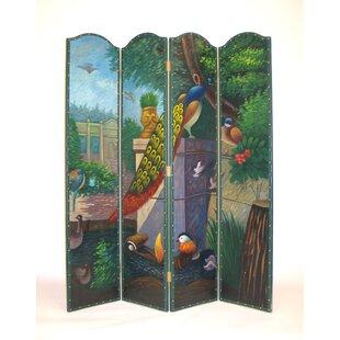 Red Barrel Studio Hessler 4 Panel Room Divider