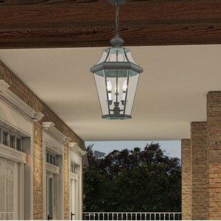 Darby Home Co Creason 3-Light Outdoor Hanging Lantern