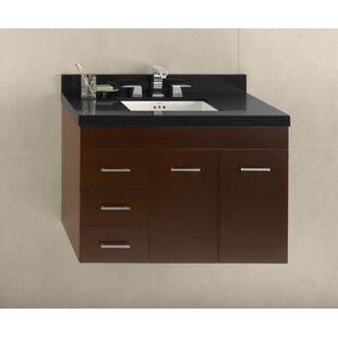 36 Bella Wall Mount Bathroom Vanity Base by Ronbow