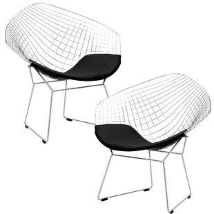 Makris Lounge Patio Chair (Set of 2)
