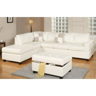 Beaverton Sectional with Ottoman by Harriet Bee