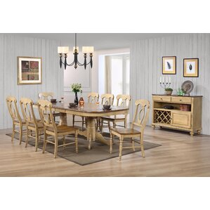 Canoga 10 Piece Dining Set by Loon Peak