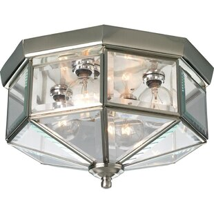 Charlton Home Hailie 4-Light Flush Mount