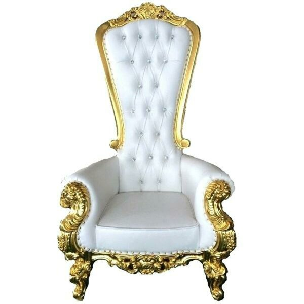 Peachy King Throne Chair Wayfair Dailytribune Chair Design For Home Dailytribuneorg