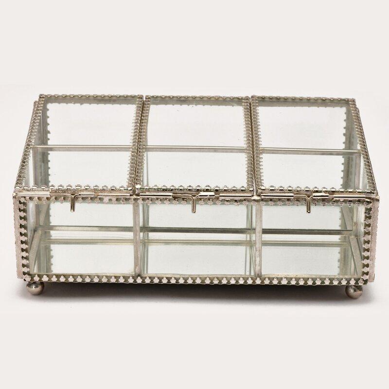 Marktsq Glass Jewelry Decorative Box Wayfair