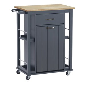 Hillmont Kitchen Cart by Beachcrest Home Reviews