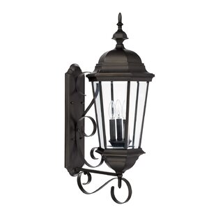 Buy clear Hounsfield 3-Light Outdoor Sconce By Alcott Hill