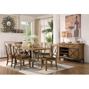 Laguna Reclaimed 7 Piece Solid Wood Dining Set
