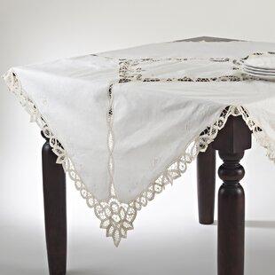 Battenberg Bianca Tablecloth