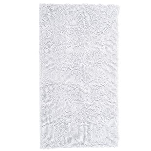 Purchase Kidd High Pile Shag Accent White Area Rug By Ebern Designs