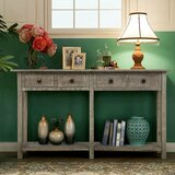 Mashdots 59 Solid Wood Console Table by Gracie Oaks