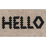 Hello Hex Tile Hand-Woven 30 in. x 18 in. Outdoor Door Mat