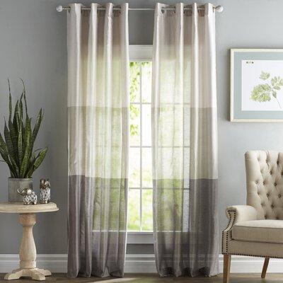 Modern Striped Curtains Drapes Allmodern