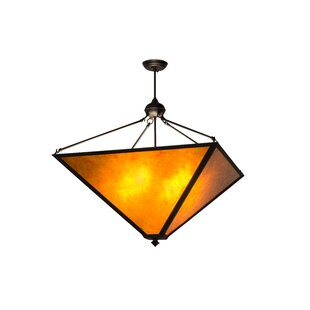 Meyda Tiffany Mission Prime 4-Light Bowl Pendant