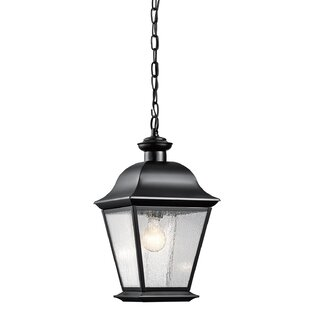 Clearance Darrah 1-Light Outdoor Hanging Lantern By Three Posts