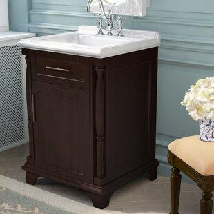Online Reviews Harvard 24 Single Bathroom Vanity Set ByThree Posts