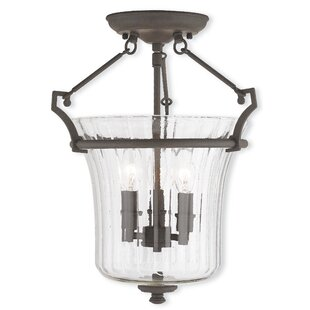 Bolindale 3-Light Semi-Flush Mount by Darby Home Co