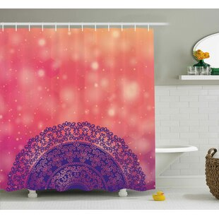 Ethnic Henna Shower Curtain