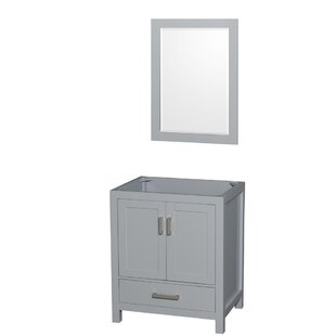 Sheffield 29 Single Bathroom Vanity Base by Wyndham Collection