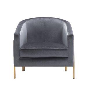 Everly Quinn Zetta Barrel Chair
