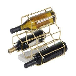 Mercury Row Rieth Contemporary 6 Bottle Tabletop Wine Rack