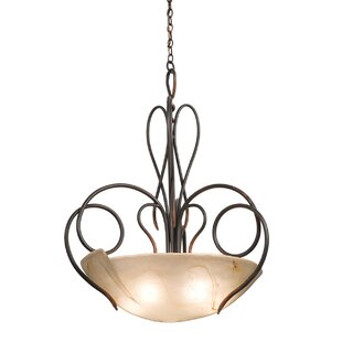 Kalco Tribecca 5-Light Bowl Pendant