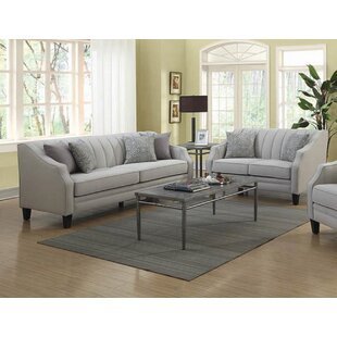 Rosdorf Park Harlan 2 Piece Living Room Set