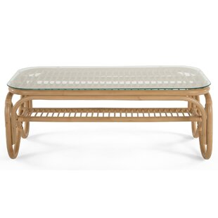 Cristian Rattan Coffee Table