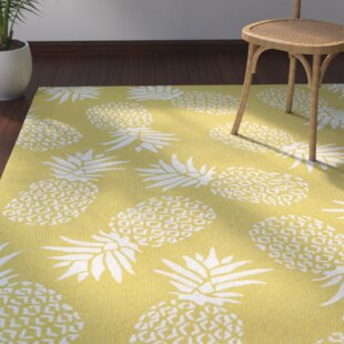 Brianna Handmade Gold Indoor/Outdoor Area Rug