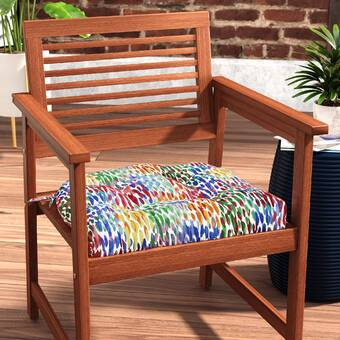 Surprising Ncaa West Virginia Indoor Outdoor Dining Chair Cushion Machost Co Dining Chair Design Ideas Machostcouk