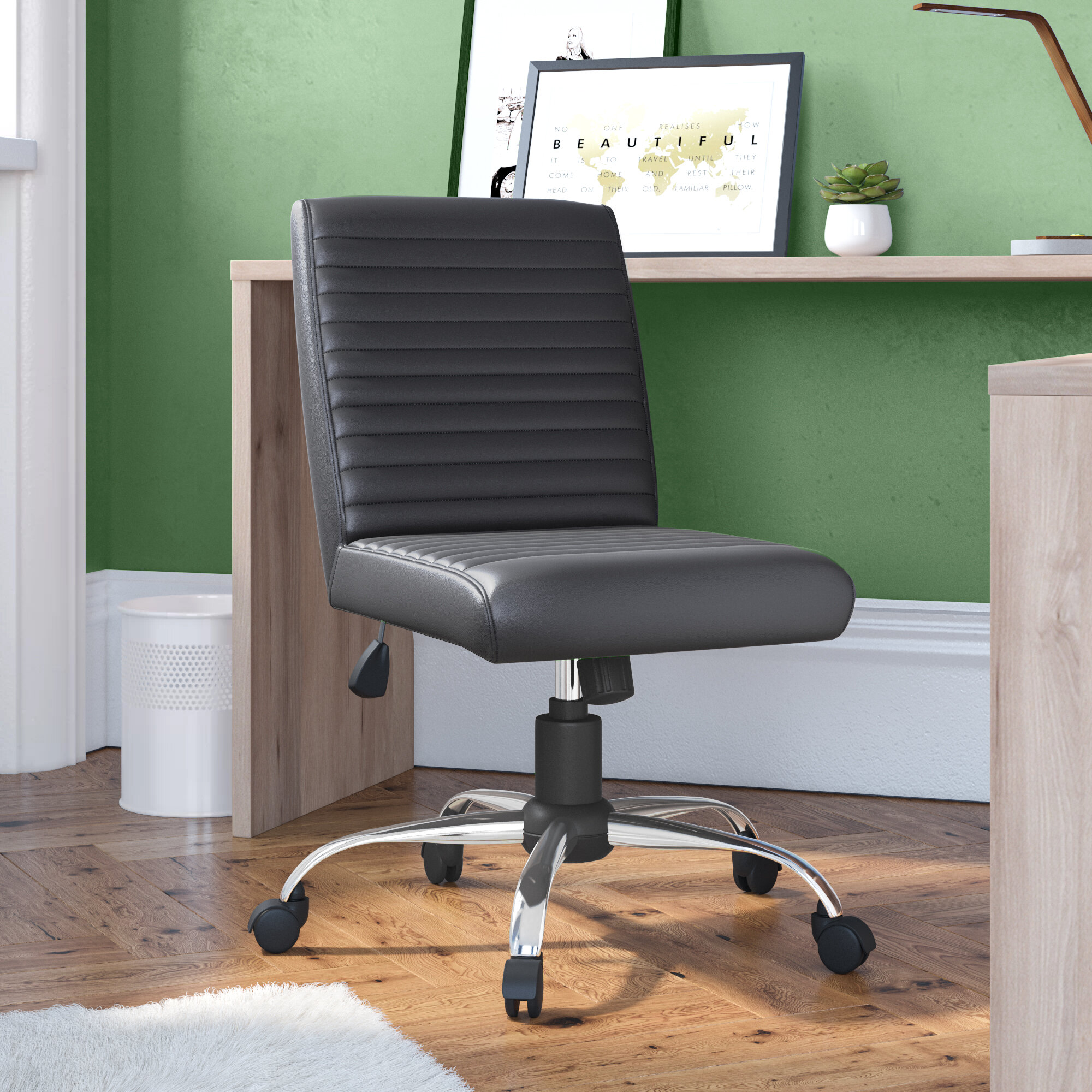 Metro Lane Mid Back Desk Chair