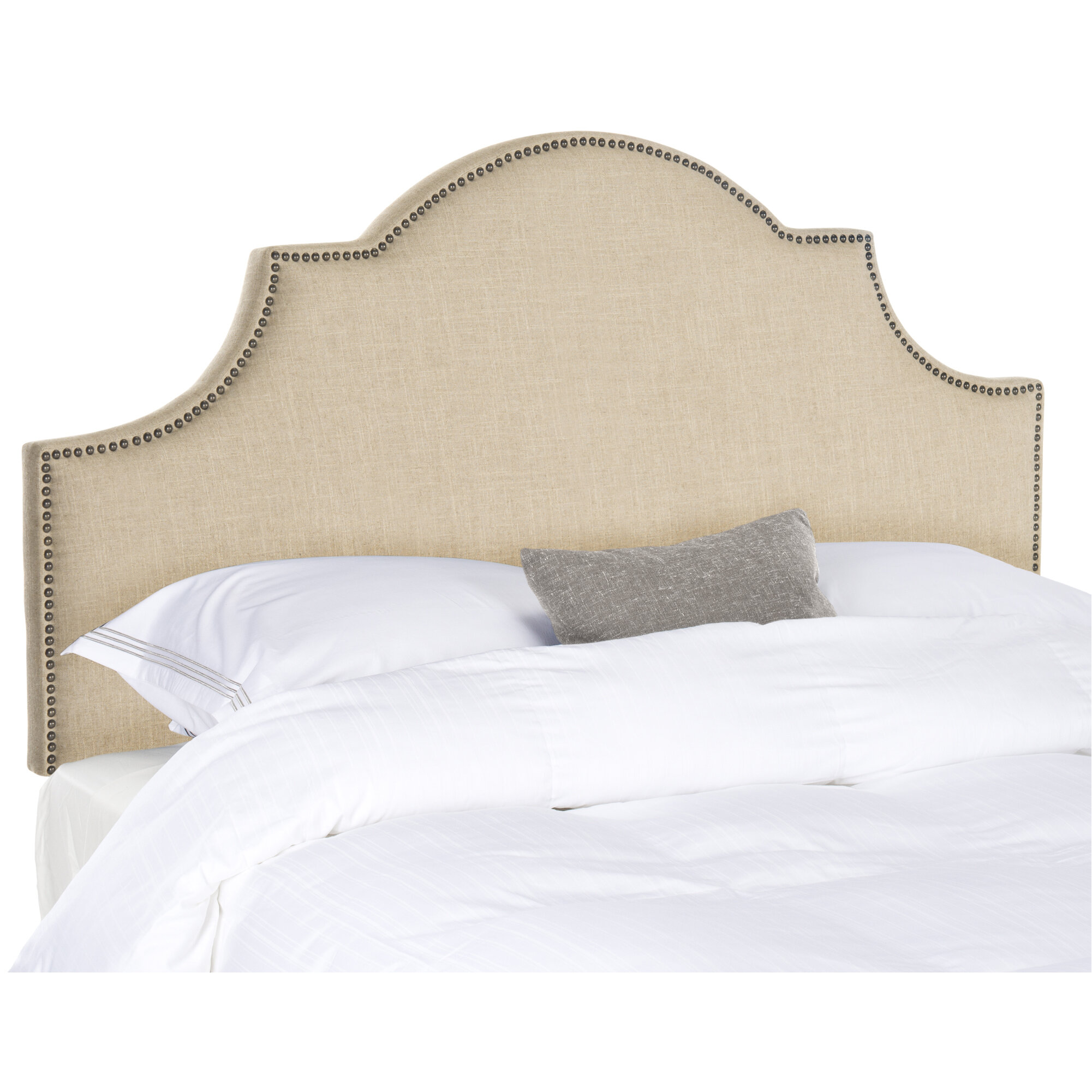 Grovelane Alonso Upholstered Panel Headboard Reviews Wayfair