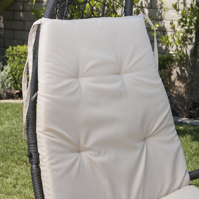 anneliese all weather wicker hammock with stand bayou breeze anneliese all weather wicker hammock with stand      rh   wayfair