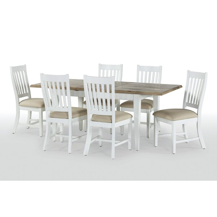 Bellemoor Extendable Dining Table With 6 Chairs